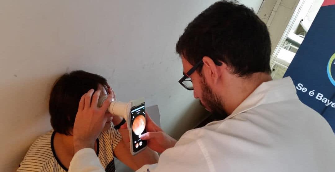 Phelcom leva tecnologia inovadora para mutirão contra diabetes