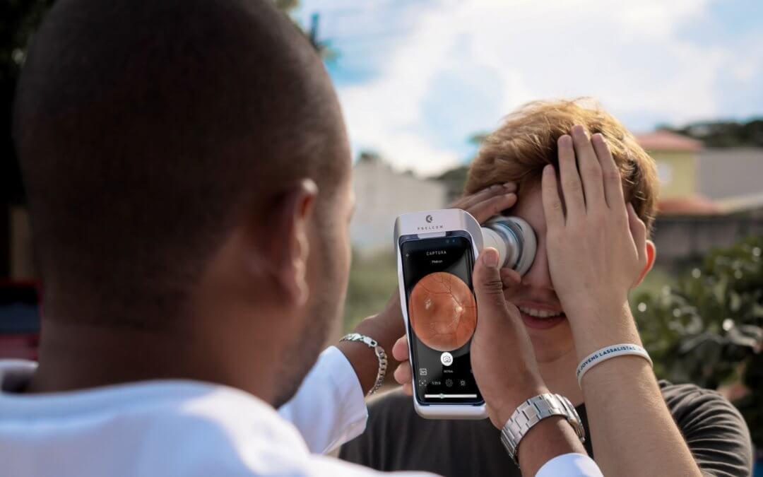 Retinógrafo portátil: Phelcom Eyer completa 1 ano com mais de 50 mil exames realizados